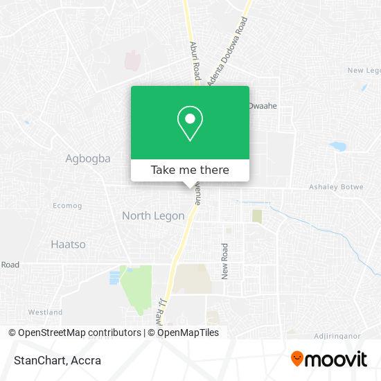StanChart map
