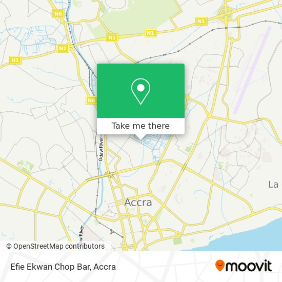Efie Ekwan Chop Bar map