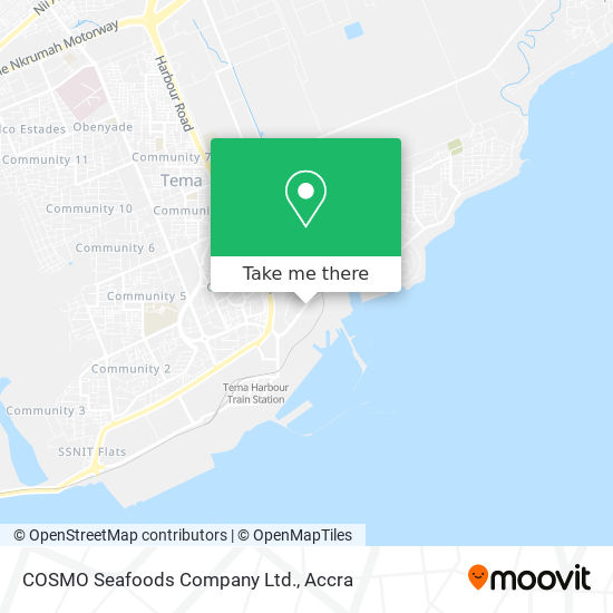COSMO Seafoods Company Ltd. map
