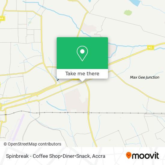 Spinbreak - Coffee Shop•Diner•Snack map