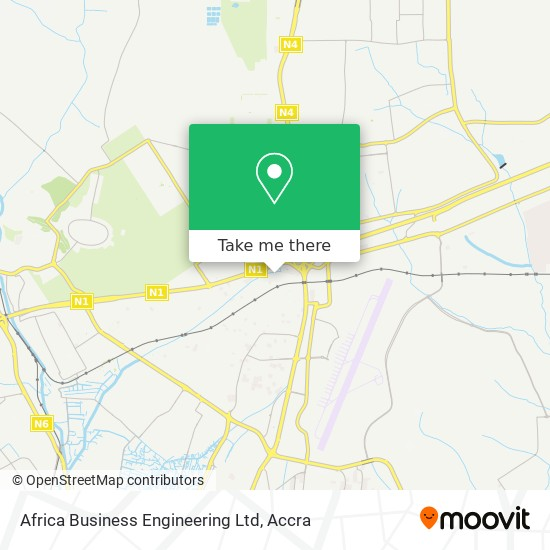 Africa Business Engineering Ltd map