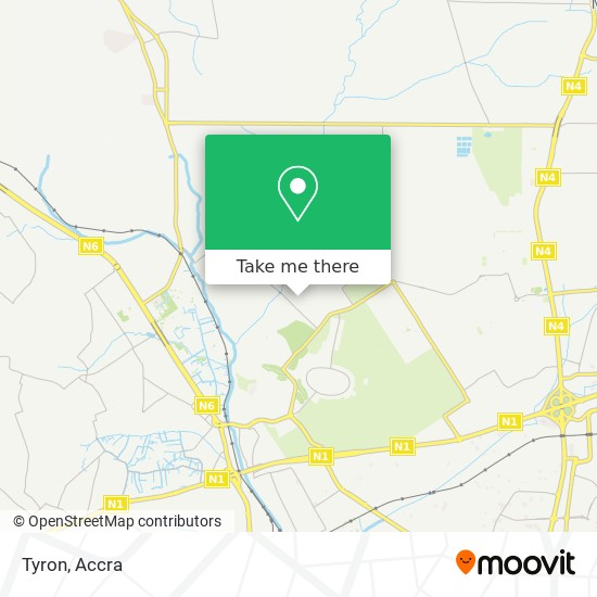 Tyron map