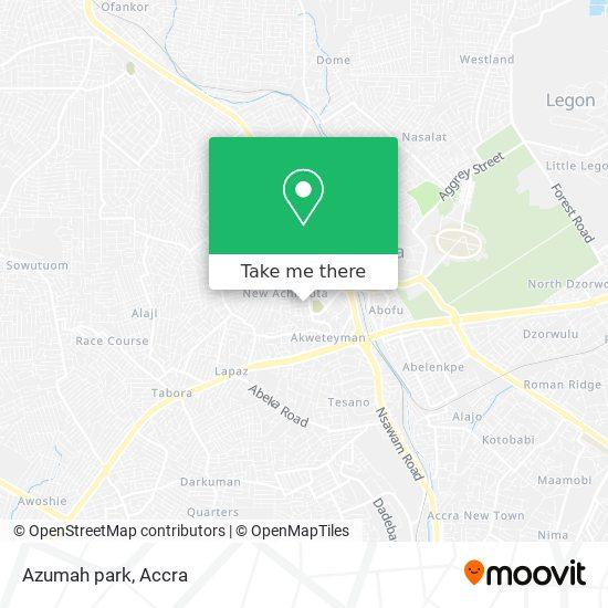 Azumah park map