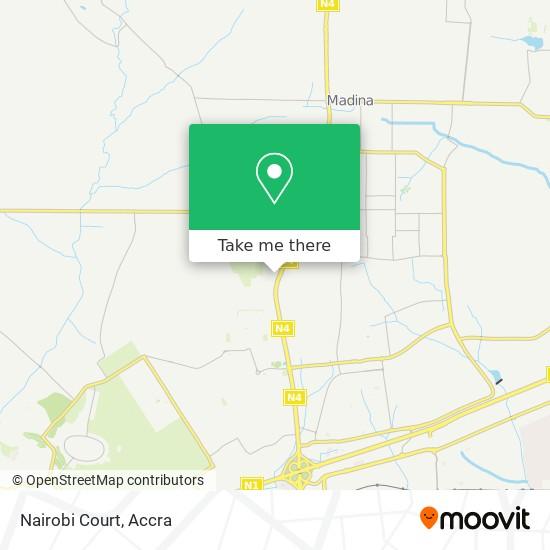 Nairobi Court map