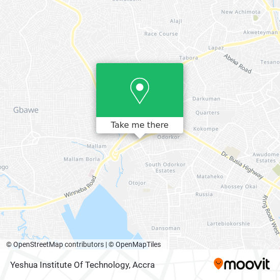 Yeshua Institute Of Technology map