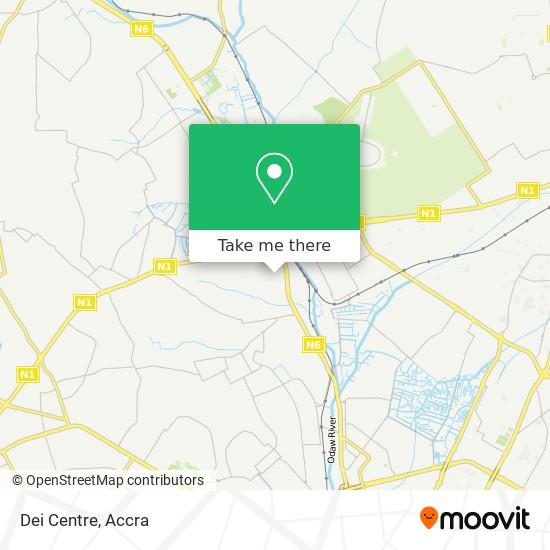 Dei Centre map