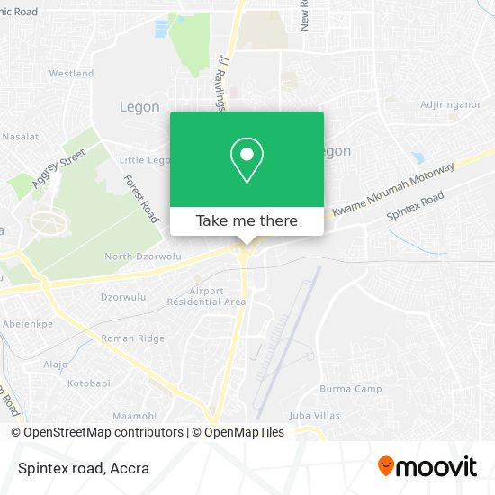 Spintex road map