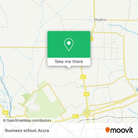 Business school map
