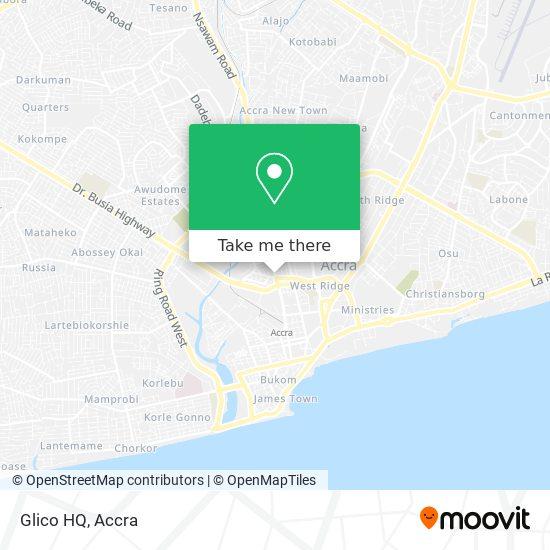 Glico HQ map
