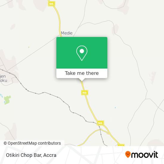 Otikiri Chop Bar map
