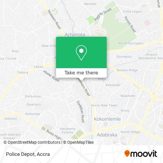 Police Depot map