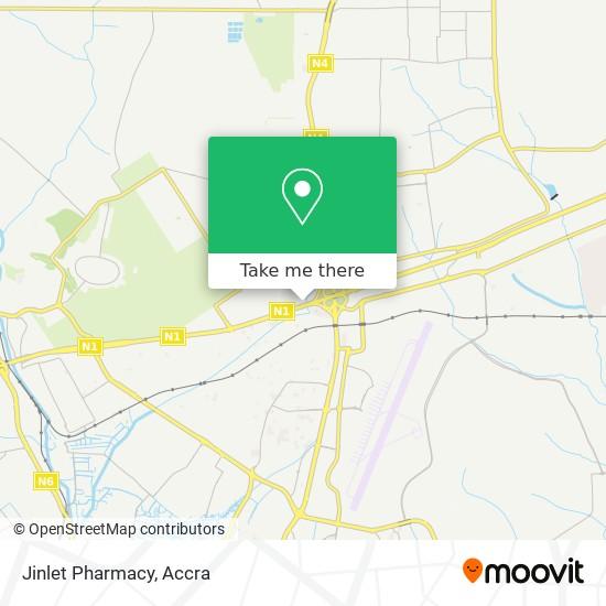 Jinlet Pharmacy map