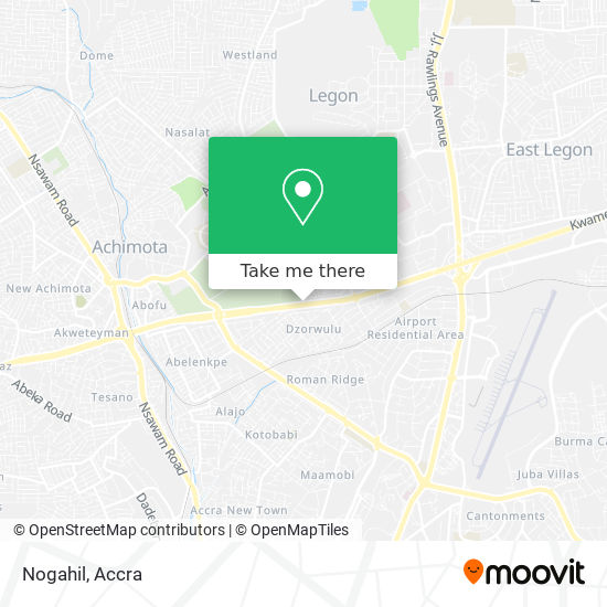 Nogahil map