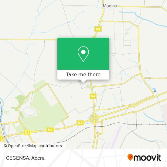 CEGENSA map