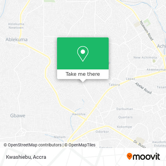 Kwashiebu map