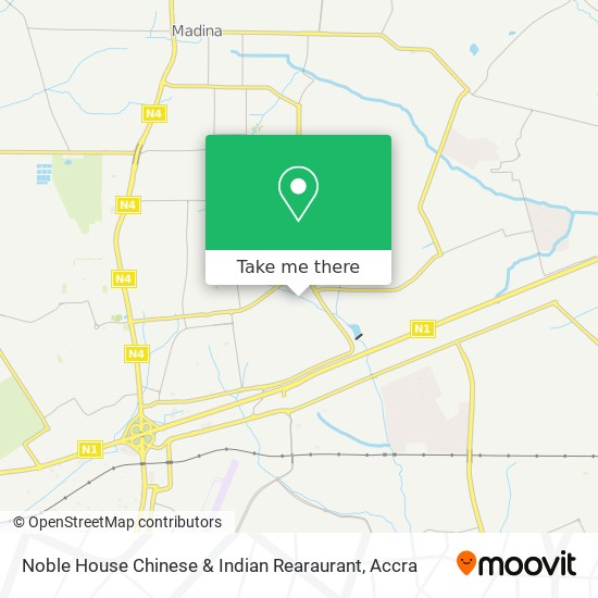Noble House Chinese & Indian Rearaurant map