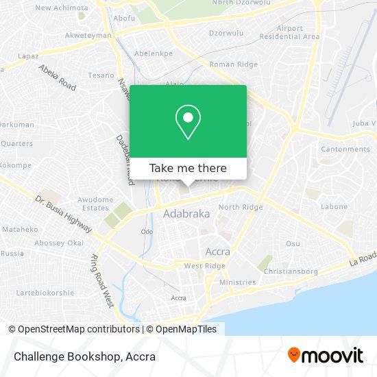 Challenge Bookshop map