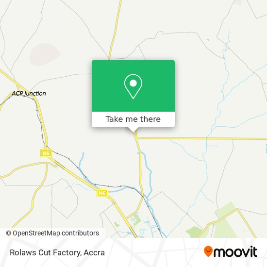 Rolaws Cut Factory map