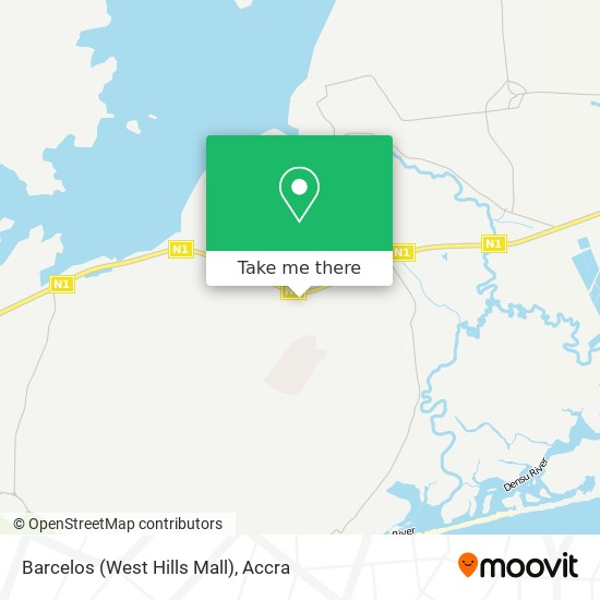 Barcelos (West Hills Mall) map
