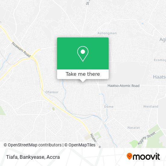 Tiafa, Bankyease map