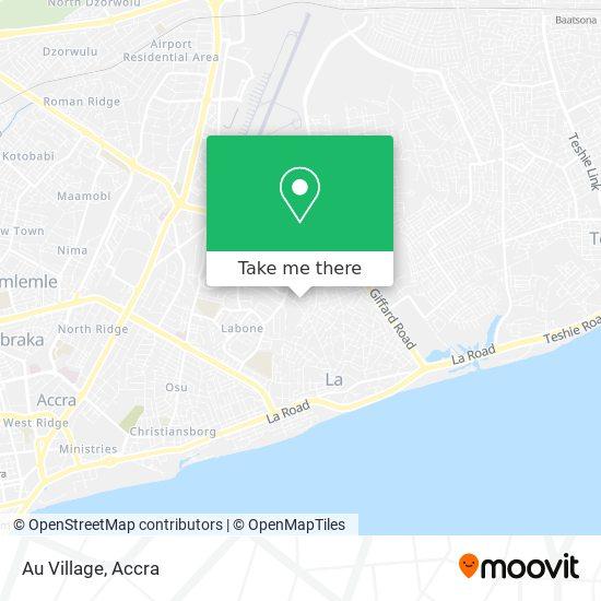Au Village map