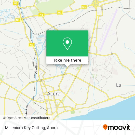 Miilenium Key Cutting map