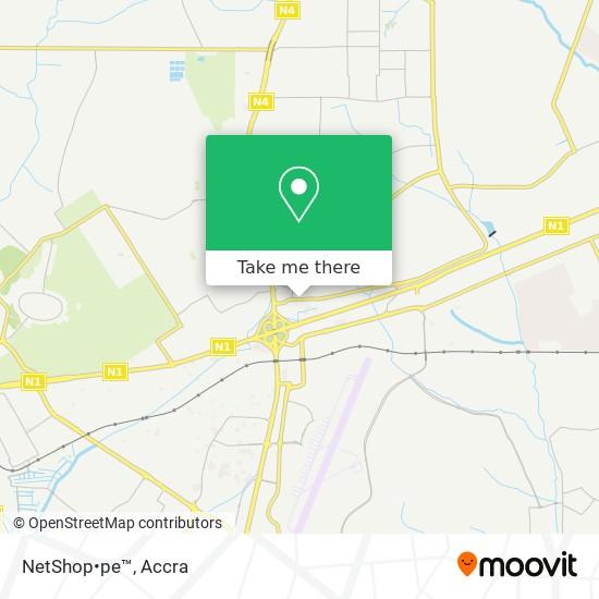 NetShop•pe™ map