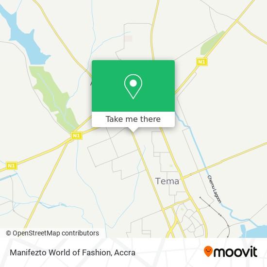 Manifezto World of Fashion map