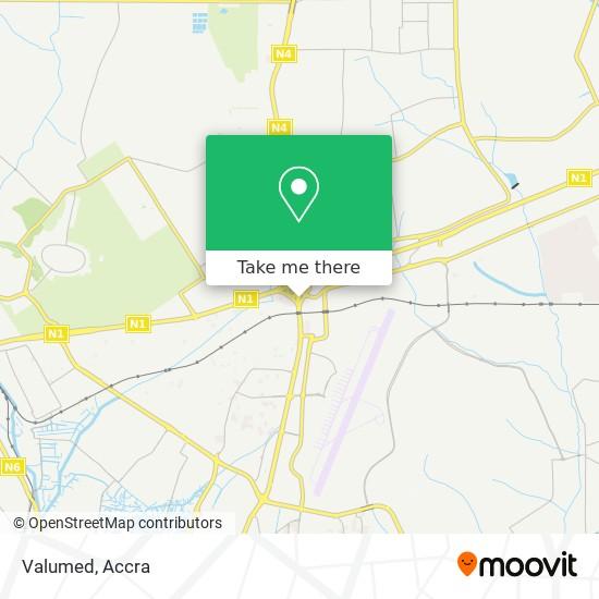 Valumed map