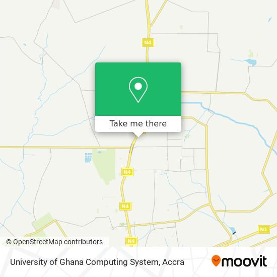 University of Ghana Computing System map
