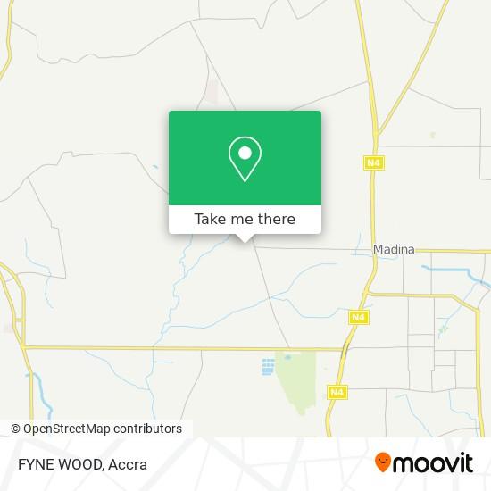 FYNE WOOD map