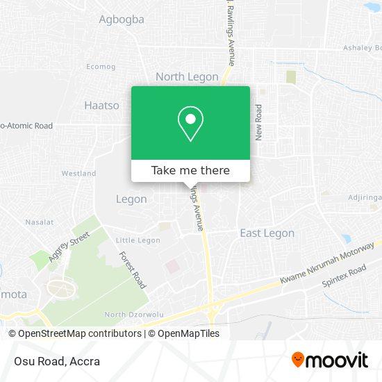 Osu Road map