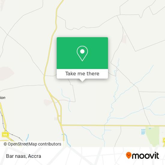 Bar naas map