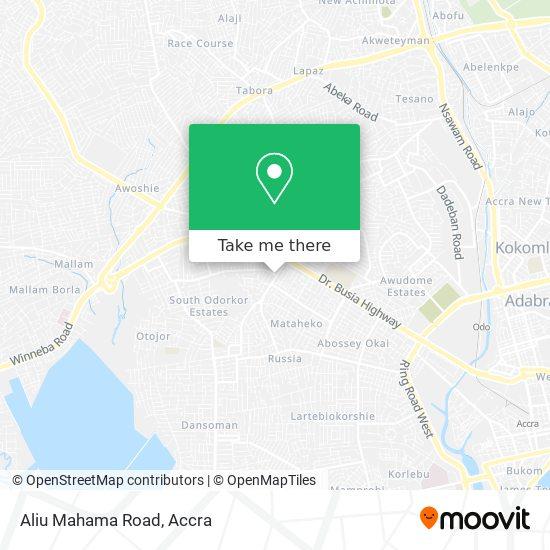 Aliu Mahama Road map