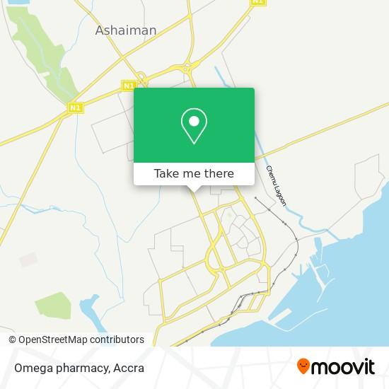 Omega pharmacy map