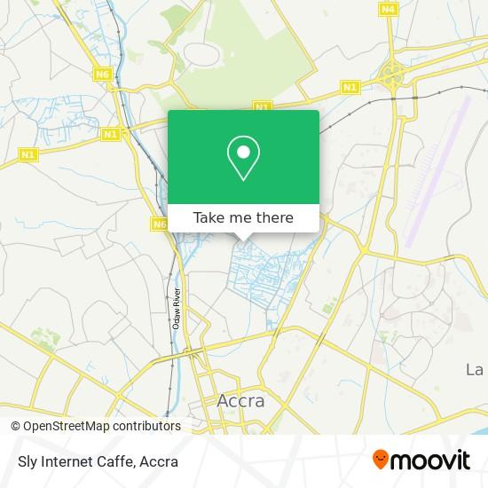 Sly Internet Caffe map
