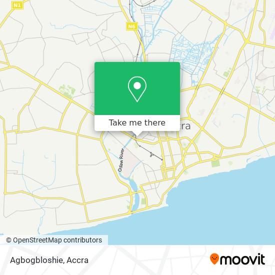 Agbogbloshie map