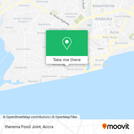therema Food Joint map