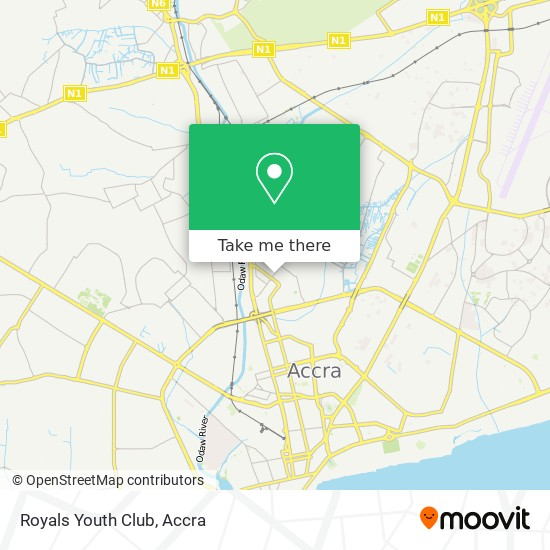 Royals Youth Club map