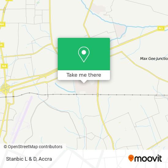 Stanbic L & D map