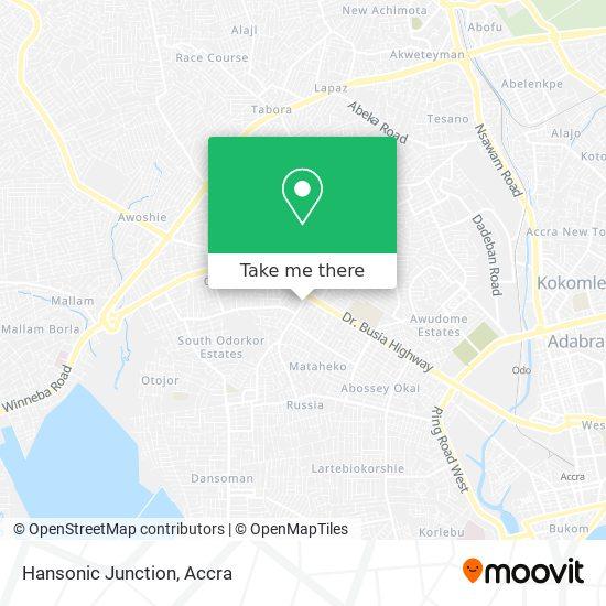Hansonic Junction map
