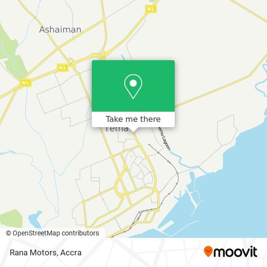 Rana Motors map