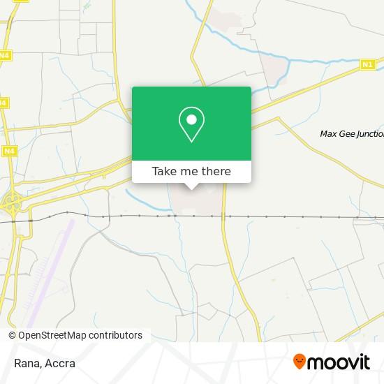 Rana map