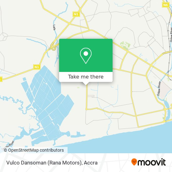 Vulco Dansoman (Rana Motors) map