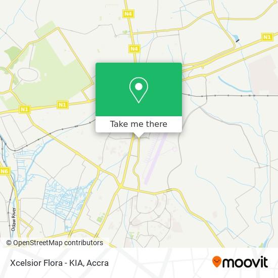 Xcelsior Flora - KIA map