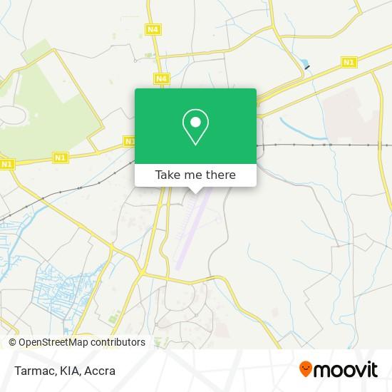 Tarmac, KIA map