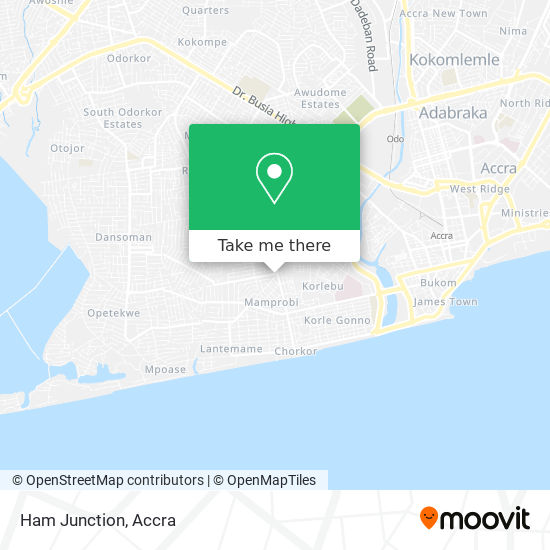Ham Junction map