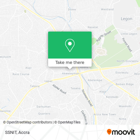 SSNIT map