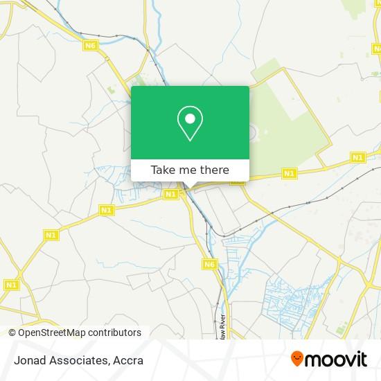 Jonad Associates map
