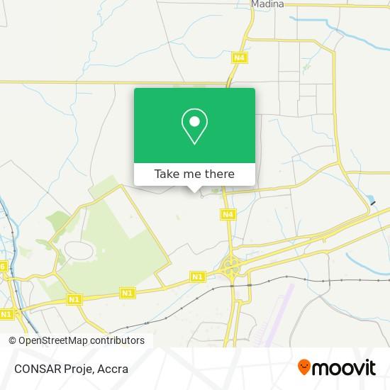 CONSAR Proje map
